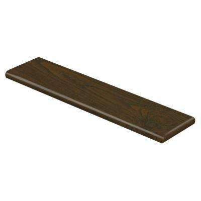 Auburn Scraped Oak 47 in. L x 12-1/8 in. D x 1-11/16 in. H Laminate Right Return to Cover Stairs 1 in. Thick