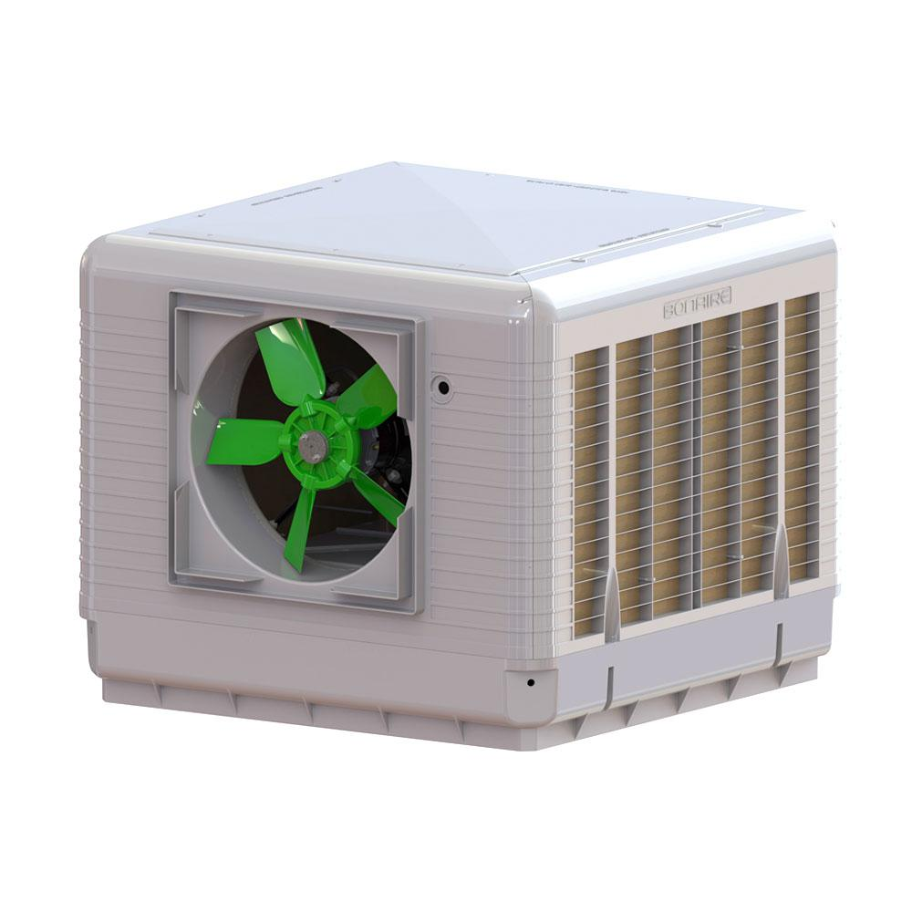 5000 CFM 2-Speed Down/Side Discharge Roof Top Evaporative Cooler For 2000