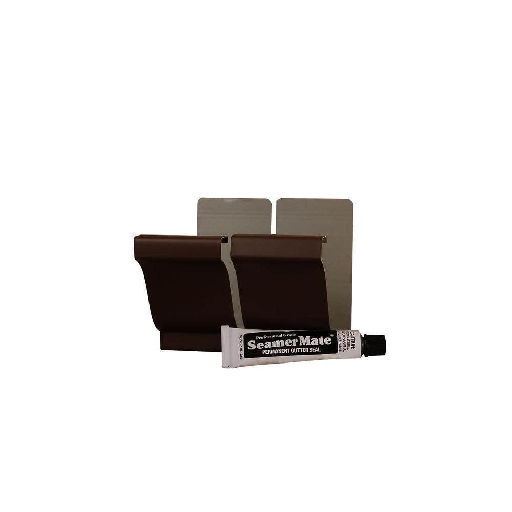 Amerimax home products in royal brown aluminum seamers