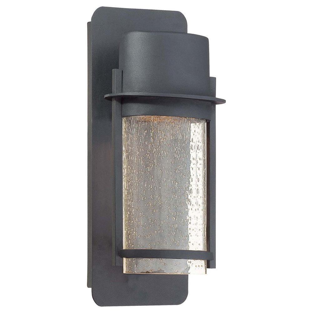 Artisan Lane 1-Light Black Outdoor Wall Mount Lantern