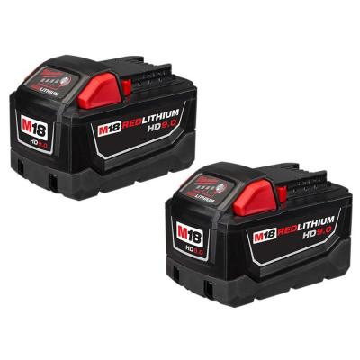 M18 18-Volt Lithium-Ion High Demand Battery Pack 9.0Ah (2-Pack)