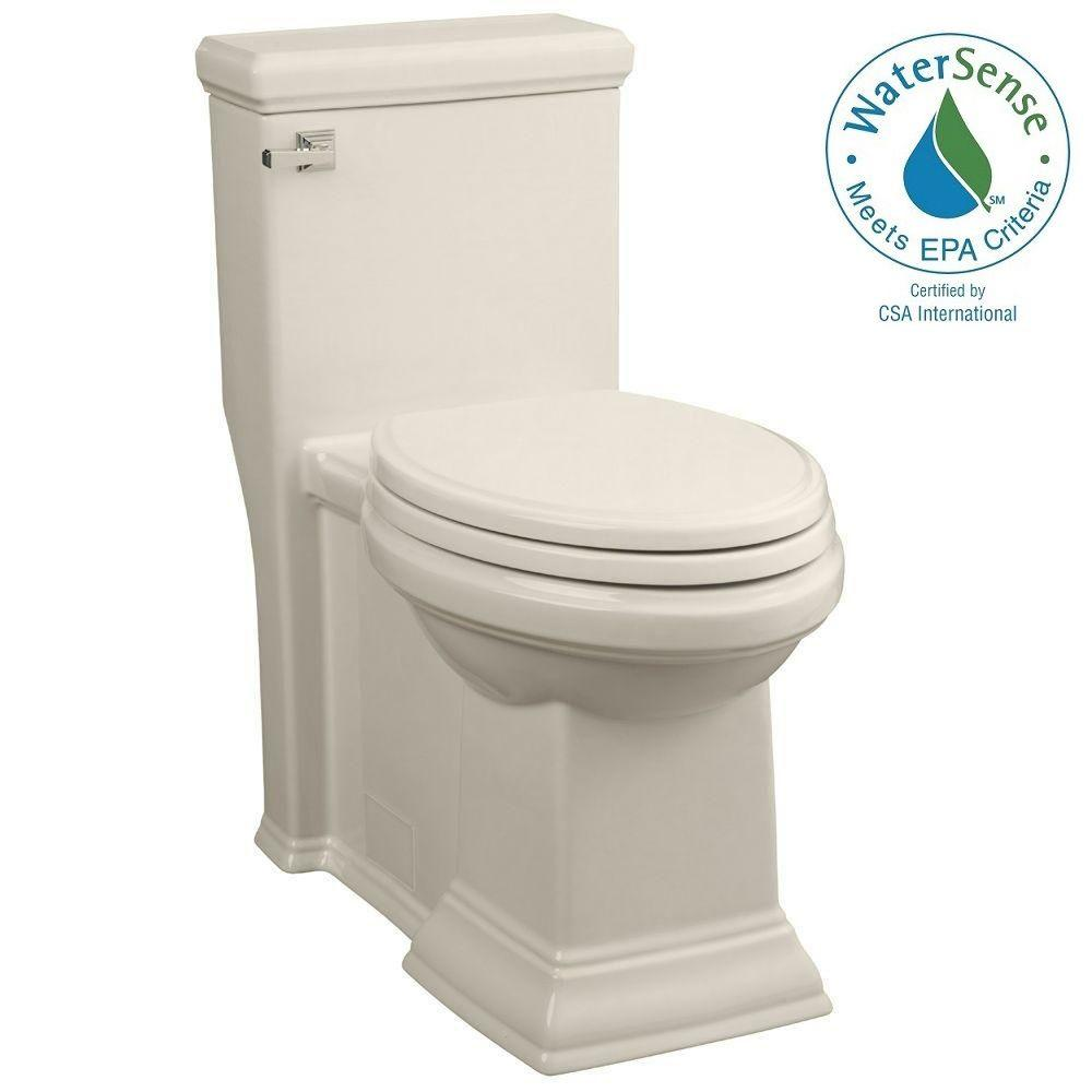 Town Square LXP 1-piece High-Efficiency 1.28 GPF Right-Height Single Flush