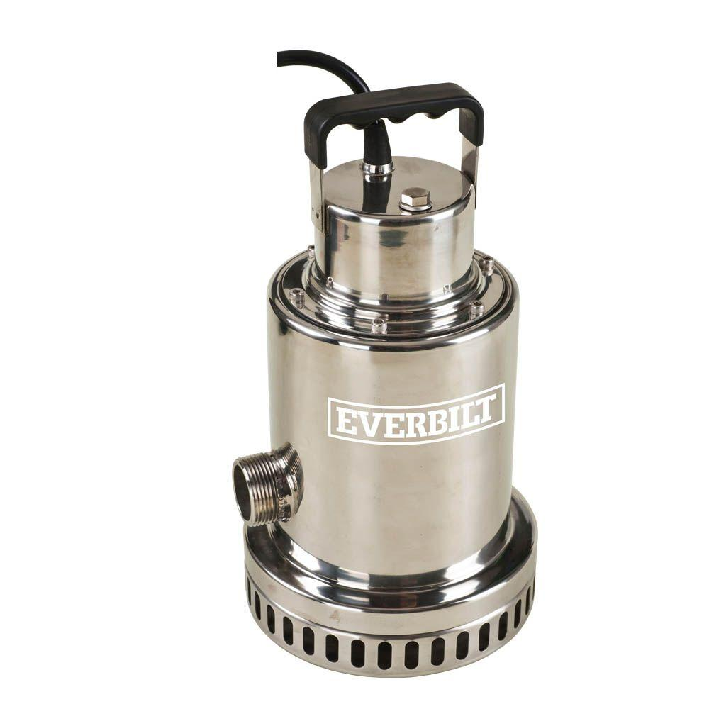 Everbilt 1 2 Hp Waterfall Utility Pump