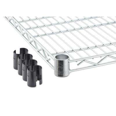 48 in. x 24 in. Individual Chrome Color NSF Wire Shelf