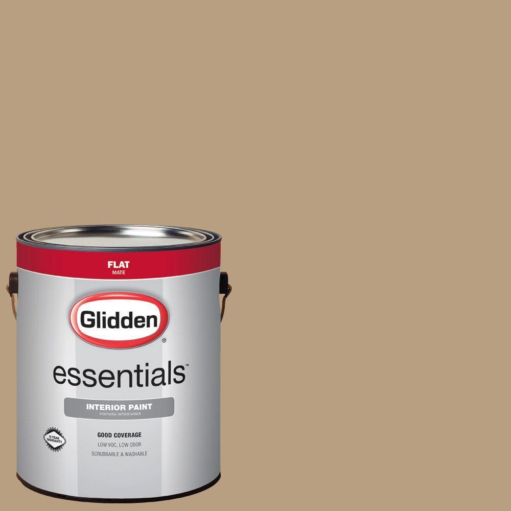 Hdgwn47u Soft Honey Gold Flat Interior Paint