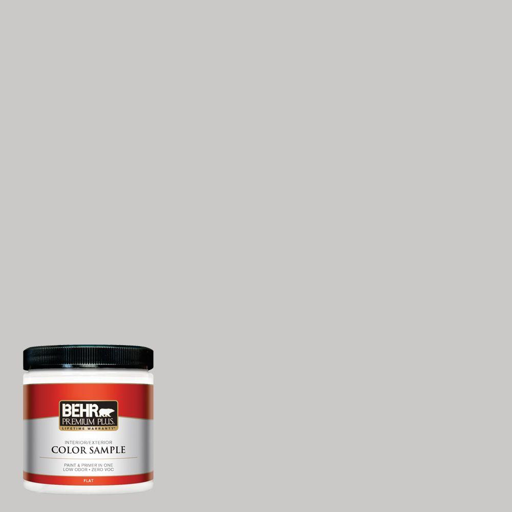 BEHR Premium Plus 8 oz. #790E-2 Gentle Rain Interior/Exterior Paint Sample