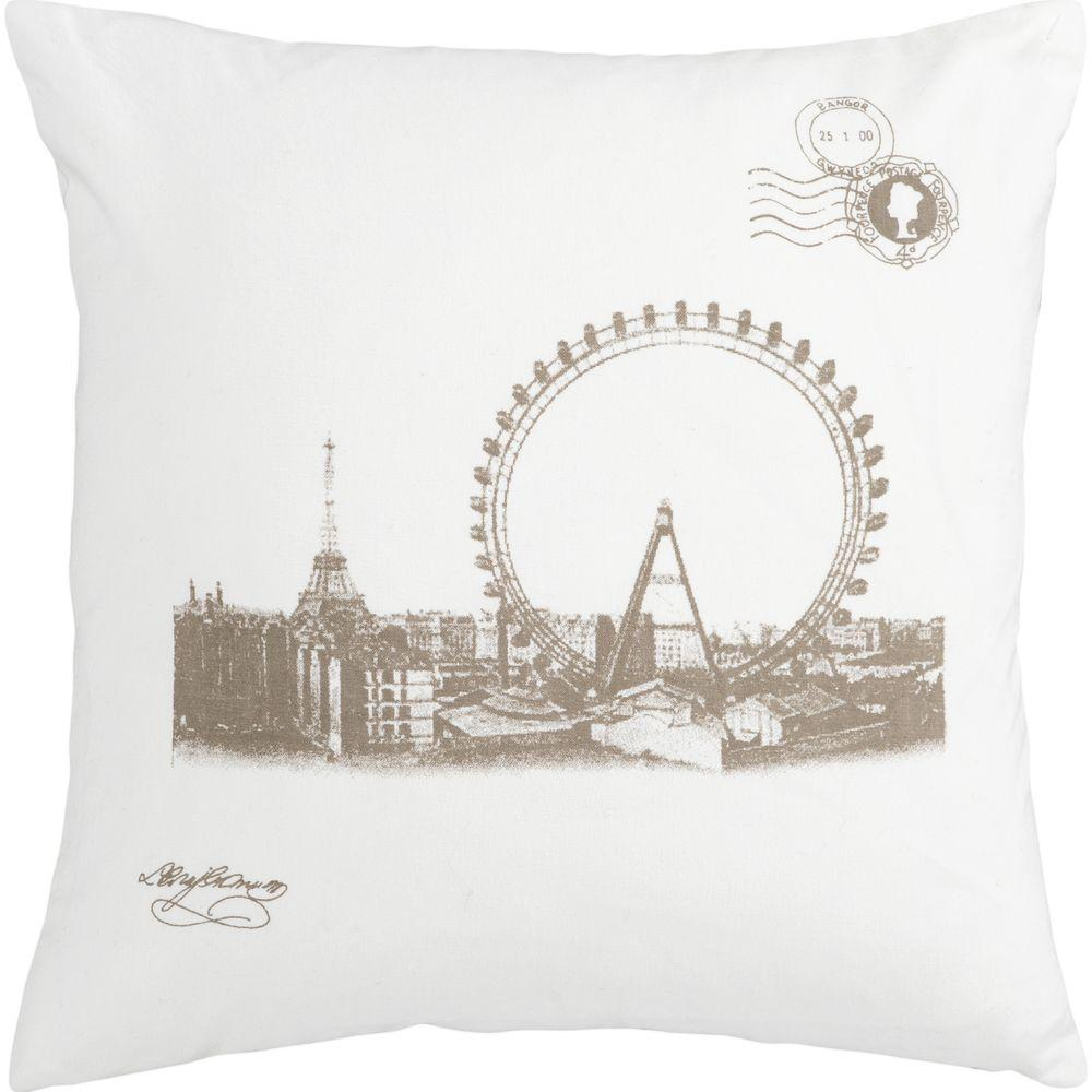 Artistic Weavers Wheel 18 in. x 18 in. Decorative Pillow-DISCONTINUED