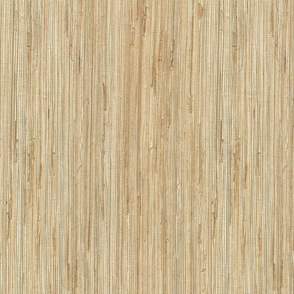 Grasscloth Wallpaper Samples: Kenneth James Daria Neutral Grasscloth Wallpaper Sample