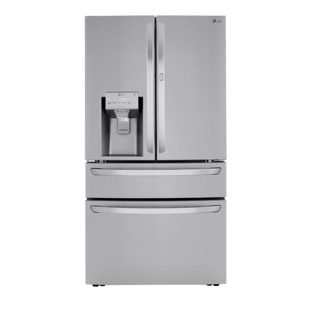 LG 29.5 cu.ft. Smart French 4-Door, Door-In-Door Full Convert with Craft Ice Refrigerator in PrintProof Stainless Steel