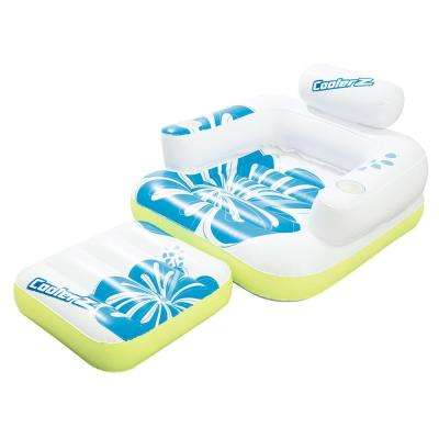 Tiki Time Floating Lounger for Swimming Pools (2-Pack)