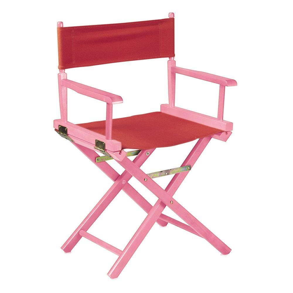 Home Decorators Collection Pink Frame Director's Chair