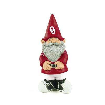 11-1/4 in. University of Oklahoma Garden Gnome