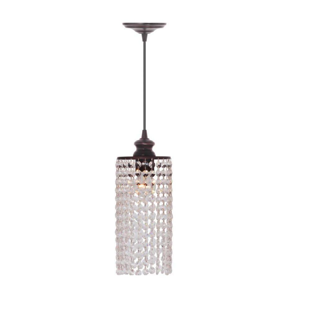 Home Decorators Collection Shimmer Clear Pendant
