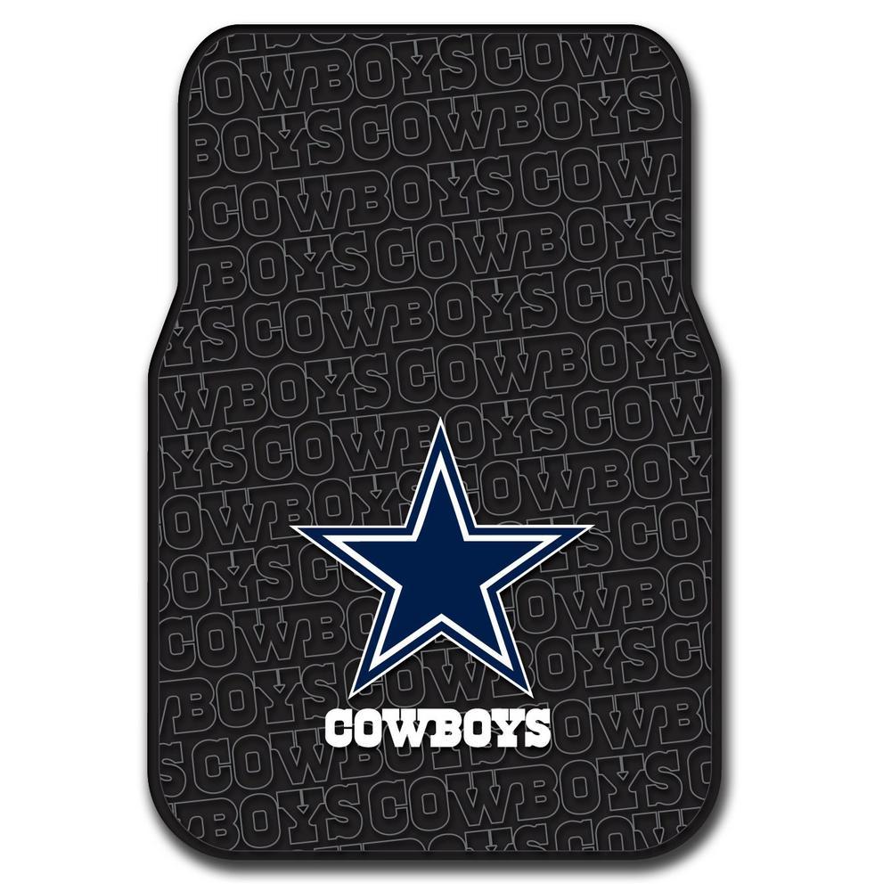 Dallas Cowboys - Floor Mats - Interior Car Accessories - The Home Depot 6589dc245