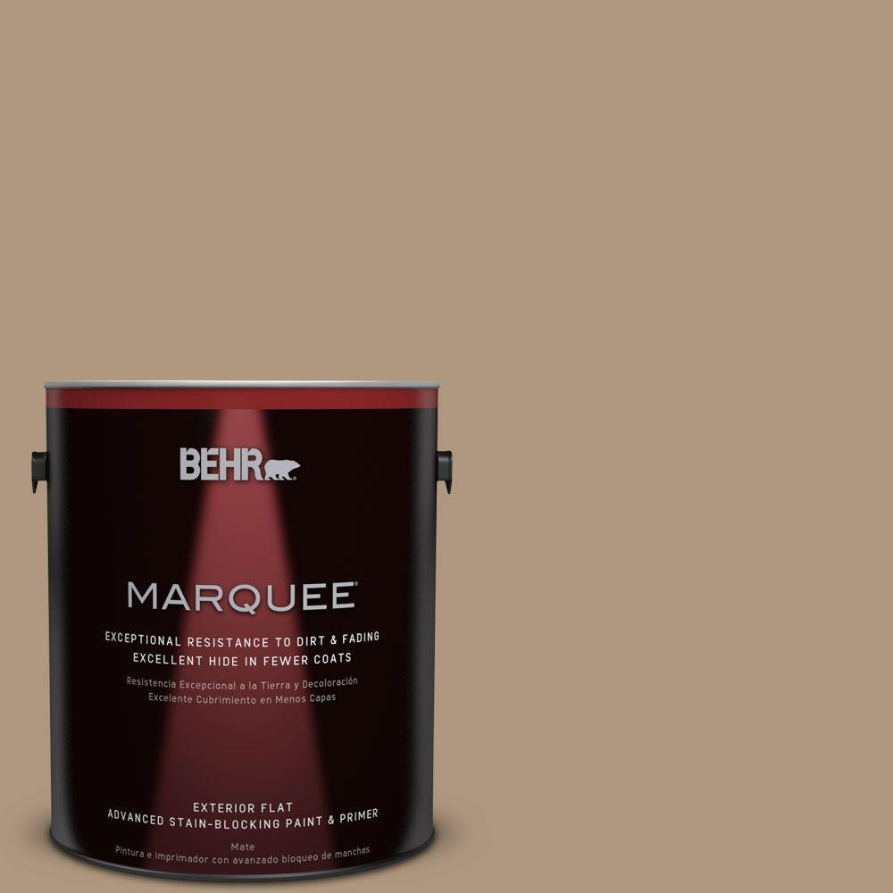 Home Decorators Collection 1-gal. #HDC-WR14-3 Roasted Hazelnut Flat Exterior Paint