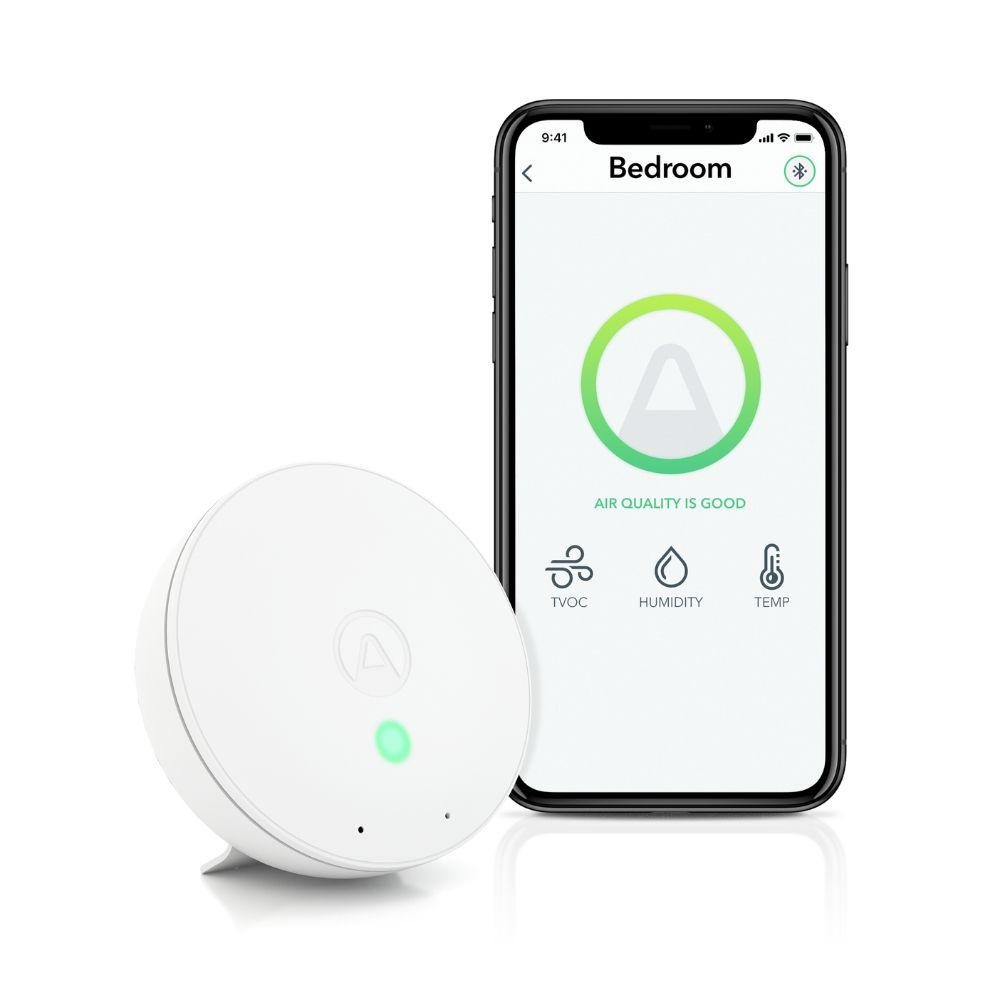 Airthings Airthings Wave Mini Smart Indoor TVOC Air Quality Detector