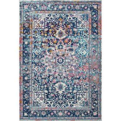 Persian Vintage Raylene Pink 8 ft. x 10 ft. Area Rug