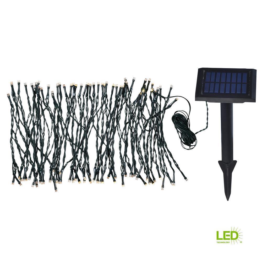Solar Garden 62 in. Integrated LED string Lights
