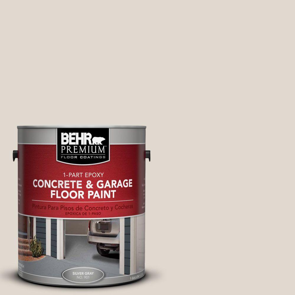 BEHR Premium 1-Gal. #PFC-72 White Cloud 1-Part Epoxy Concrete and Garage Floor Paint