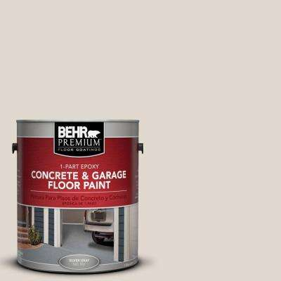 1 gal. #PFC-72 White Cloud 1-Part Epoxy Concrete and Garage Floor Paint