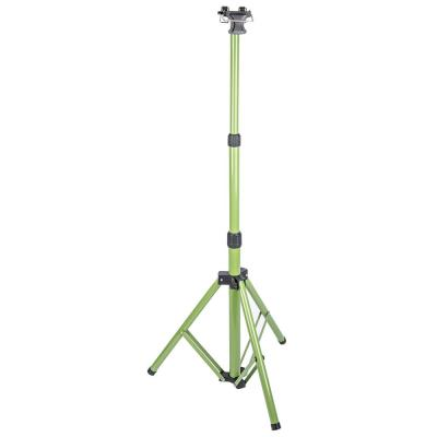 Durable Metal Telescoping Tripod for Work Lights with 28 to 65 in. Range, Quick-Release System and Rubber Feet
