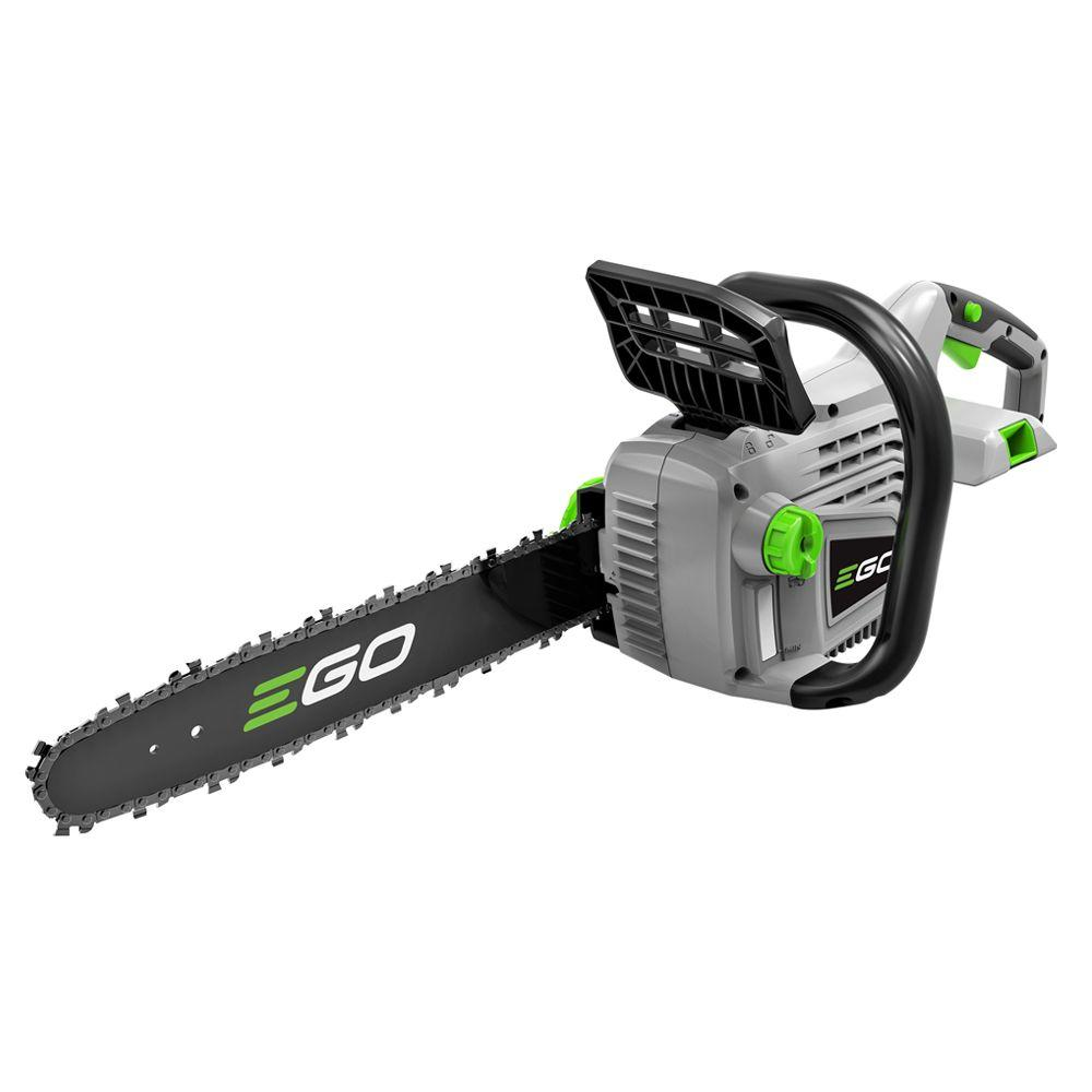 EGO Reconditioned 14 in. 56V Lith-Ion Cordless Chainsaw, Battery and Charger Not Included
