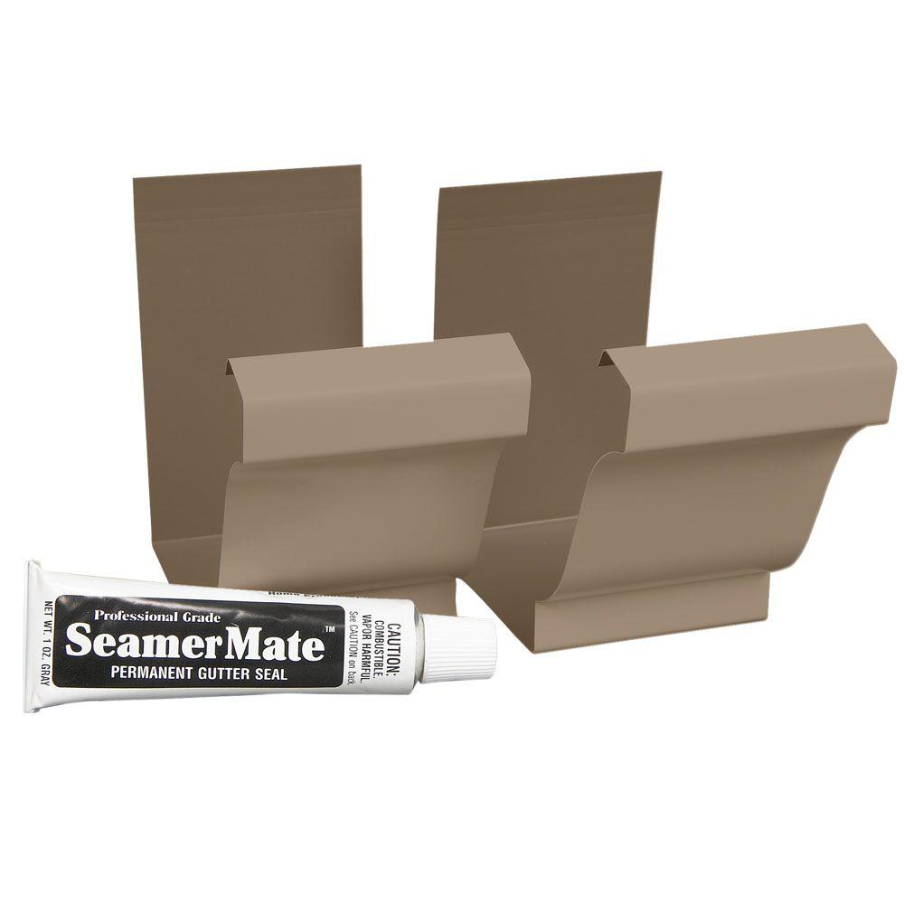 5 in. Aluminum Natural Clay Seamers with Seamermate (2-Pack)