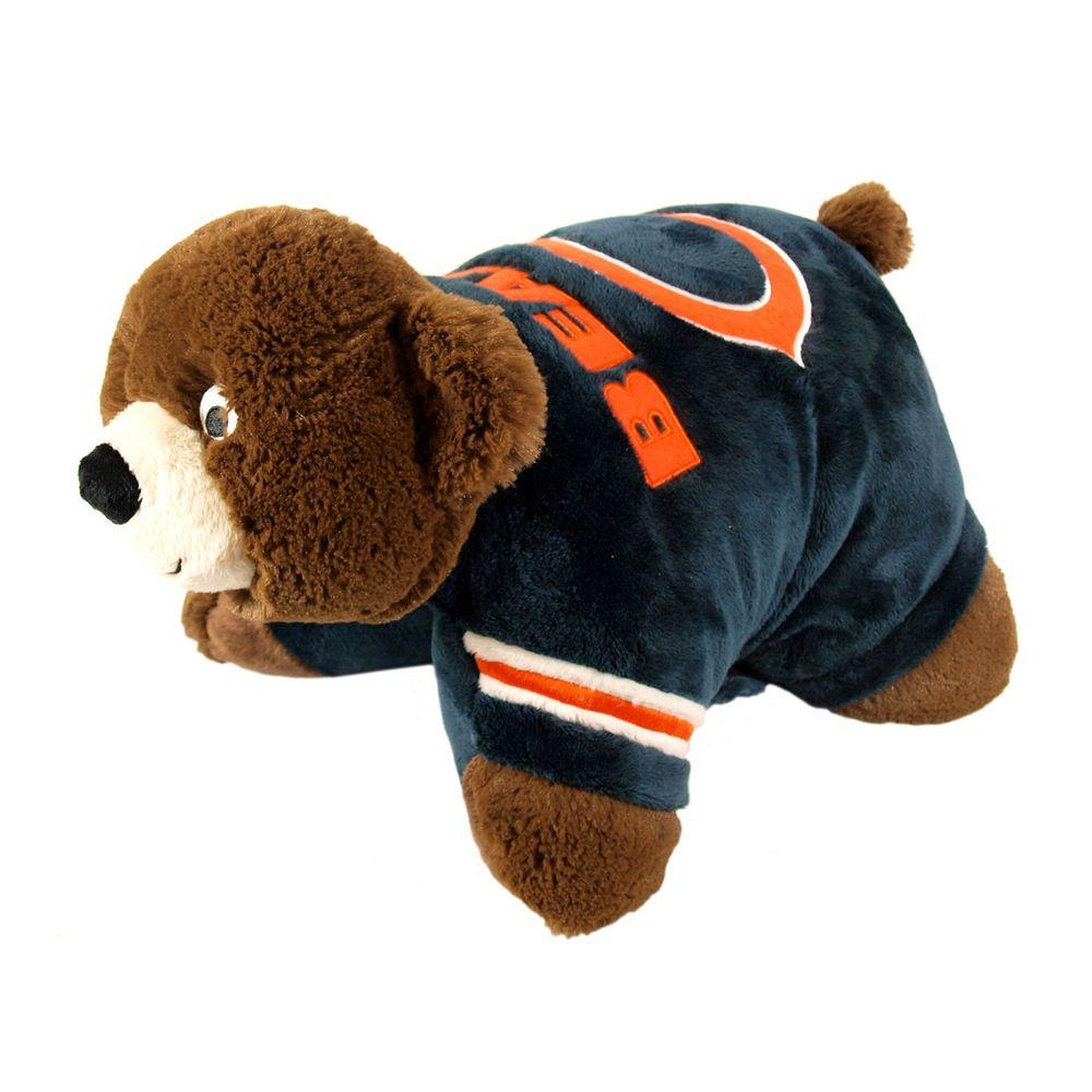 Fabrique Innovations Chicago Bears Pillow-DISCONTINUED