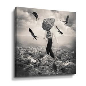 'Battle' by  Tommy Ingberg Canvas Wall Art