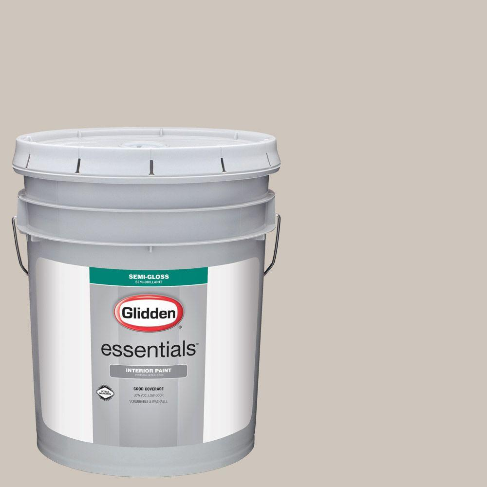 Hdgwn36 Fossil Grey Semi Gloss Interior Paint