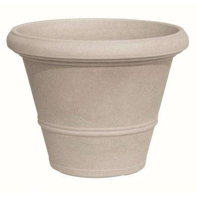 15.75 in. Dia Havana Round Plastic Planter Pot