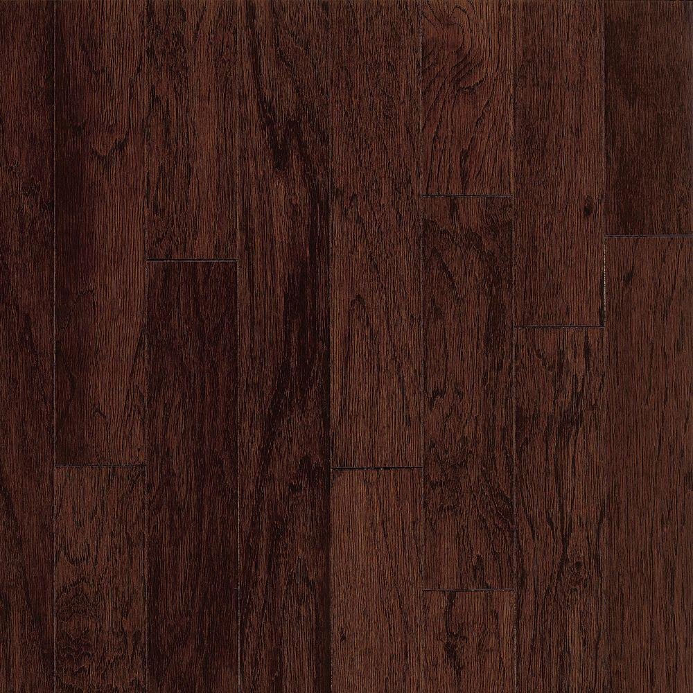 Bruce Town Hall Exotics Hickory Molasses 3/8 in.Thickx 3 in. WidexRandom Length Engineered Hardwood Flooring (28 sq.ft./case)