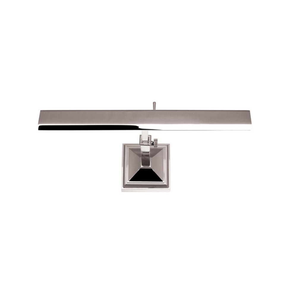Hemmingway 14 in. Polished Nickel LED Adjustable Picture Light, 2700K