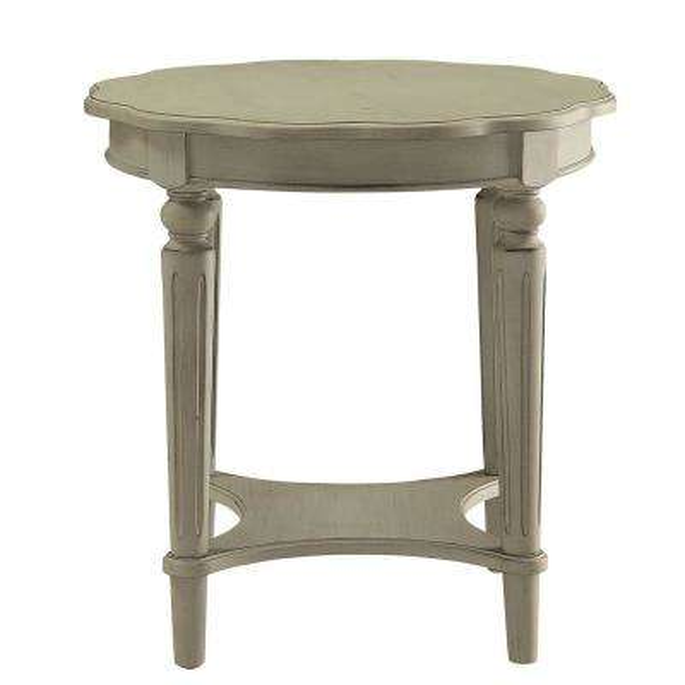Amelia Antique Slate Fordon End Table