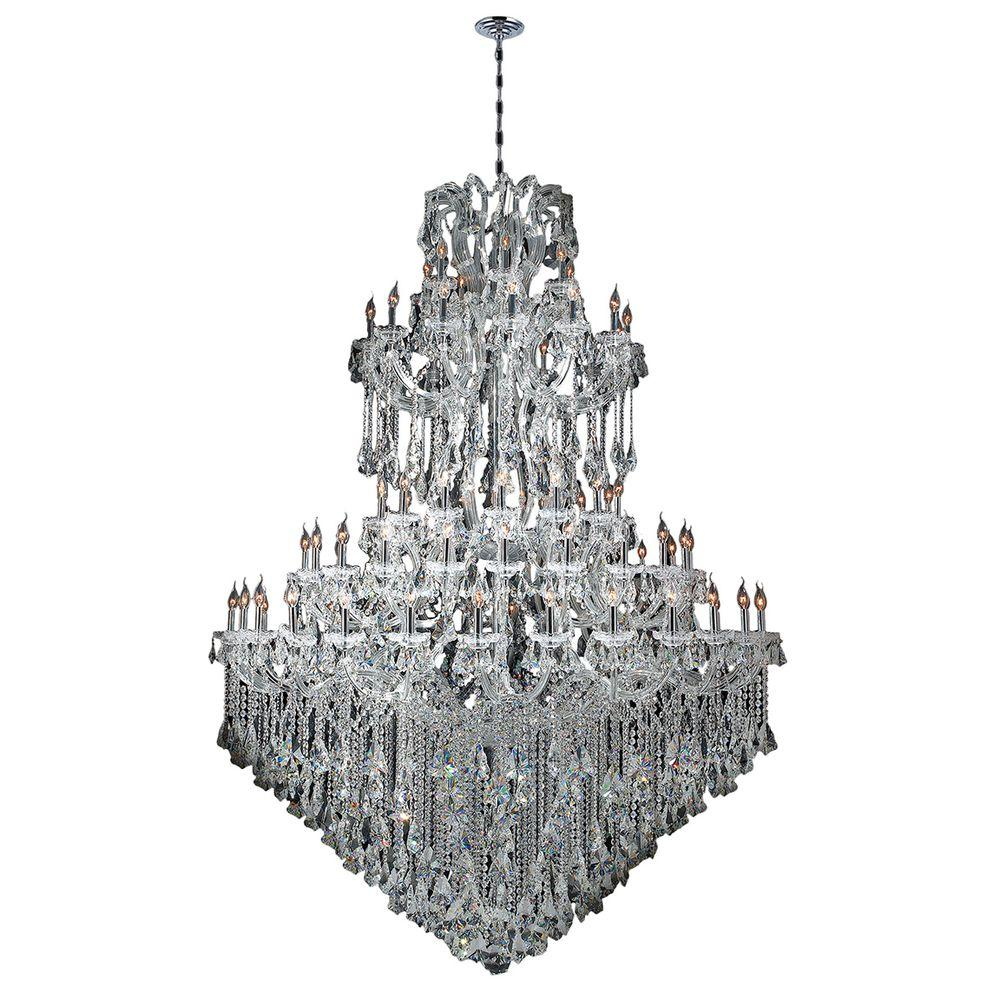 Maria Theresa Collection 84-Light Polished Chrome Crystal Chandelier