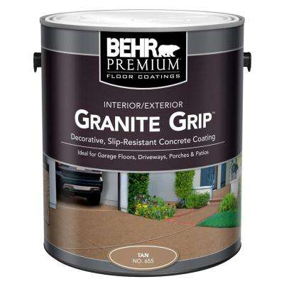 1 gal. #65501 Tan Granite Grip Interior/Exterior Concrete Paint