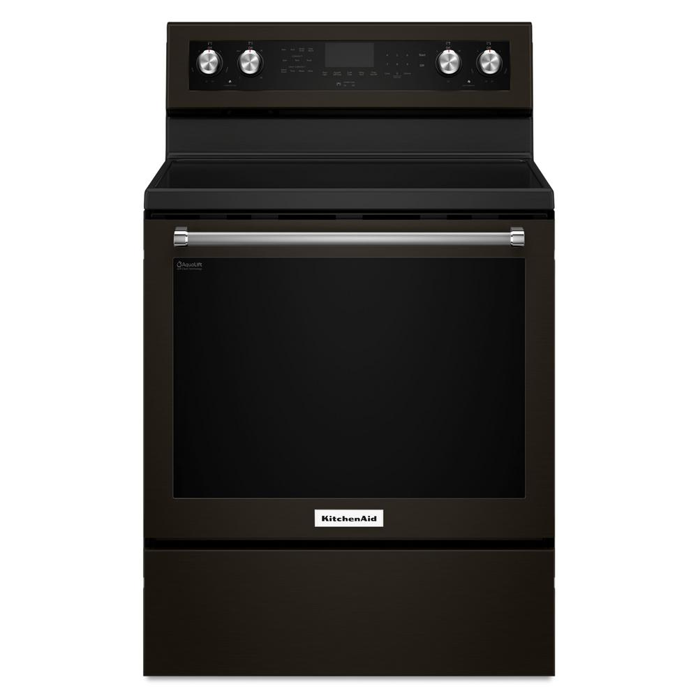 Charmant KitchenAid 30 In. 6.4 Cu. Ft. Electric Range With Self Cleaning Convection