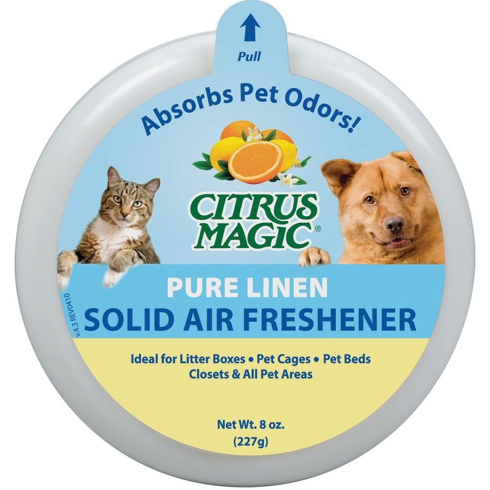 8 oz. Pure Linen Pet Odor Absorbing Solid Air Freshener (3-Pack)