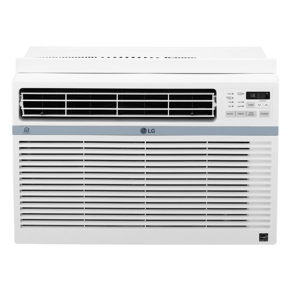 lg electronics 8,000 btu window smart (wi-fi) air conditioner with
