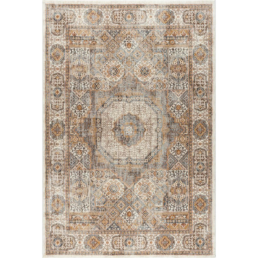 Tayse rugs fairview ivory 6 ft 7 in x 9 ft 6 in area for 7 x 9 dining room rugs