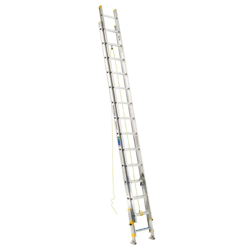 28 ft. Aluminum D-Rung Equalizer Extension Ladder with 225 lb. Load