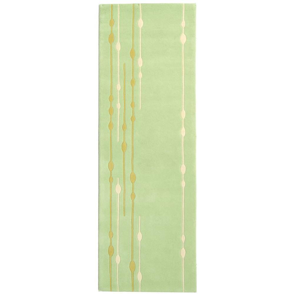 Safavieh Soho Light Green 2 ft. 6 in. x 8 ft. Rug Runner