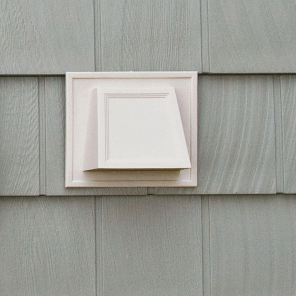 1 White Builders Edge 140137079001 Vent