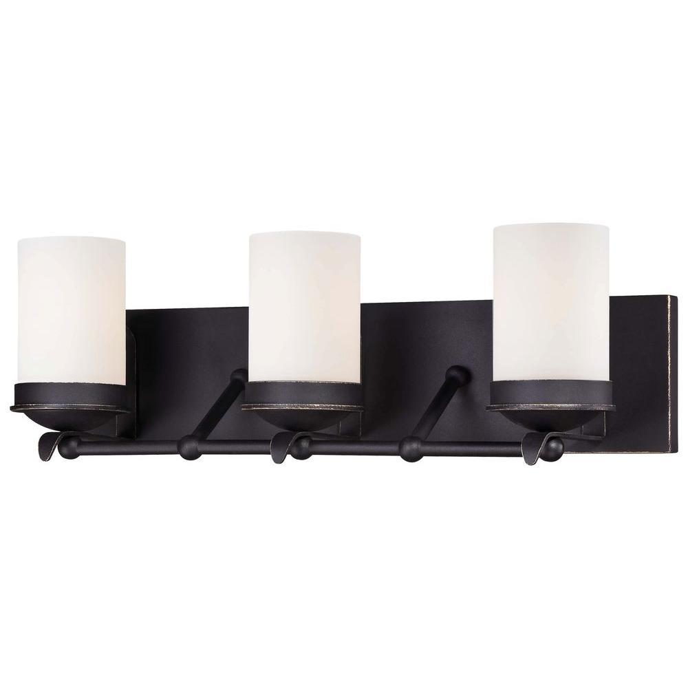 Minka Lavery Kingsgate 3-Light Kona Black Bath Light