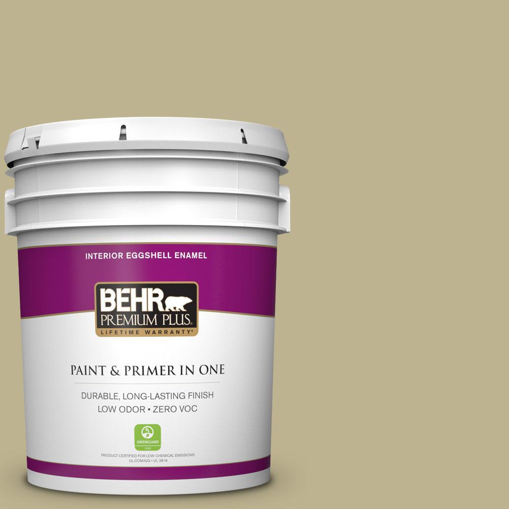 5 gal. #PPU9-10 Wasabi Powder Zero VOC Eggshell Enamel Interior Paint