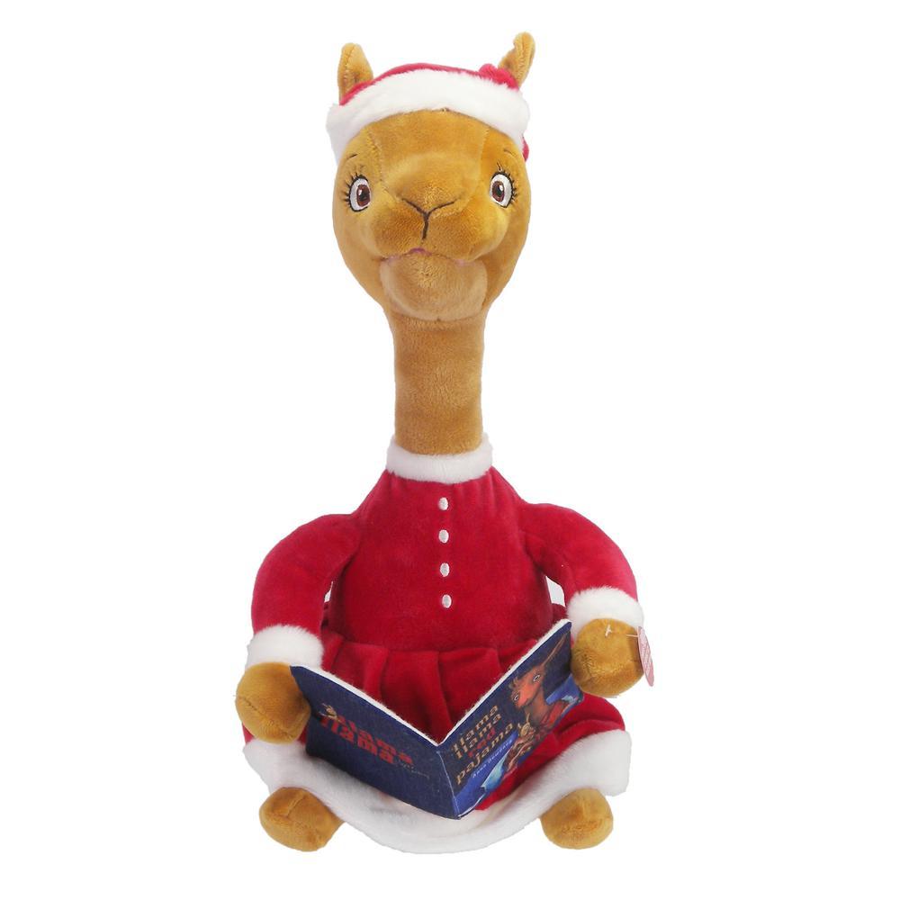 Home Accents Holiday 13.5 in Storytelling Holiday Mama Llama