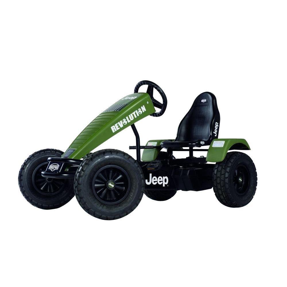 BERG Jeep Revolution BFR Pedal Cart, Greens