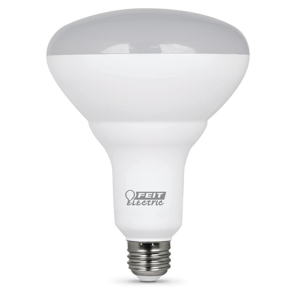 65-Watt Equivalent (5000K) BR40 Dimmable LED Light Bulb, Daylight (Case of 24)