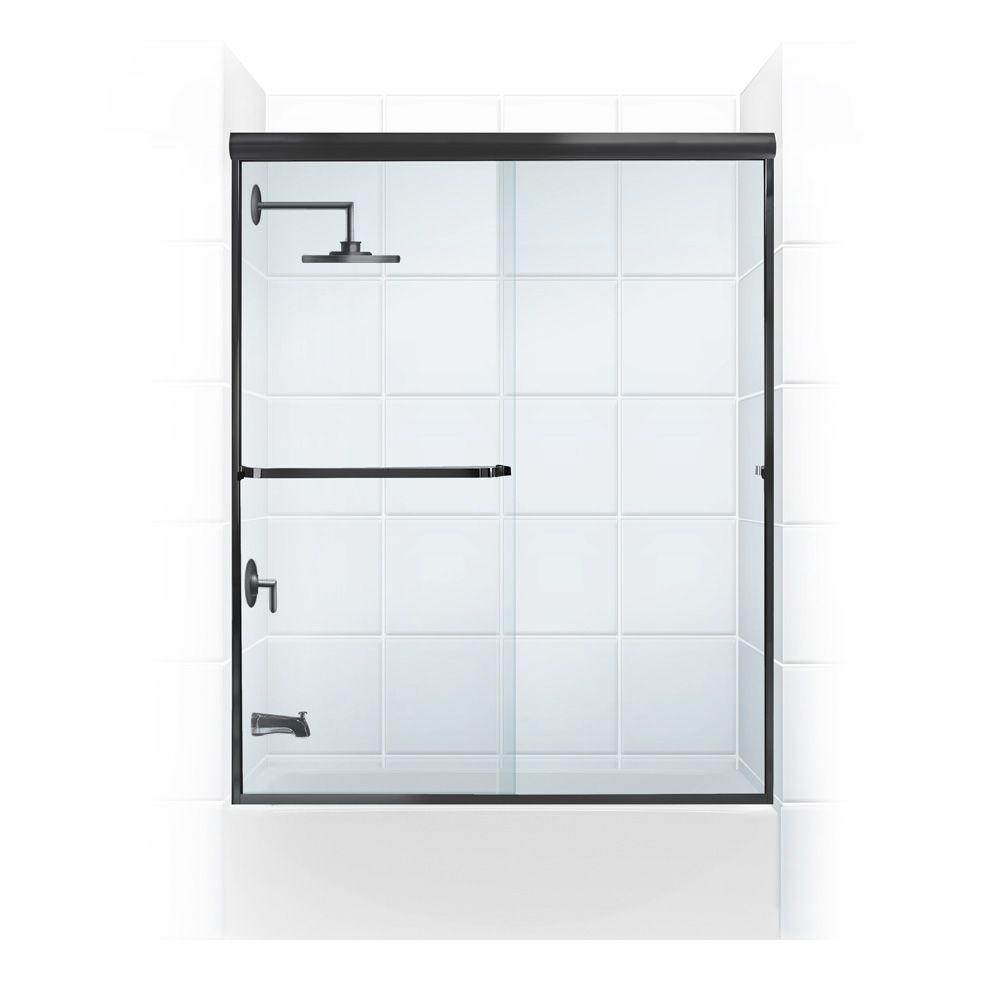 Paragon 3/16B Series 56 in. x 57 in. Semi-Framed Sliding Tub
