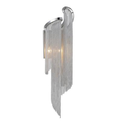 Daisy 9 in. Chrome Sconce